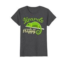 Gecko T-Shirt World Lizard Day Funny Lizards Tee Shirt - $19.99