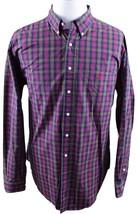 NEW Ralph Lauren Classic Button Down Shirt MENS 18 2XL XXL Red Green Plaid - $49.99