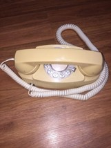 Western Electric CS702BM Princess Rotary Dial Beige Telephone Great Prop - $32.53