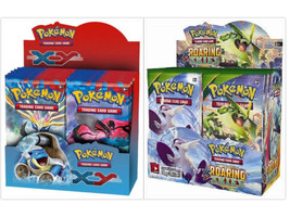 Pokemon TCG XY Base Set + XY Roaring Skies Booster Box Card Game Bundle - $249.99