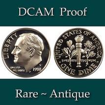 1988-S Roosevelt Dime - DCAM Proof - $2.29