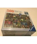 The Bizarre Bookshop Ravensburger 500 Piece Jigsaw Puzzle Colin Thompson... - $29.69