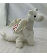"Ty Beanie Babies Magic Dragon White 7"" 1995 Stuffed Animal Toy - $19.95"