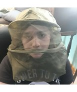 US Military Mosquito INSECT Repellent Head Net  USA Made Very Good Condi... - $20.69
