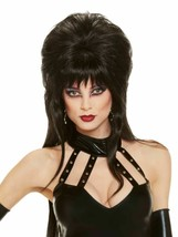 Rubies Elvira Mistress Of The Dark Perücke Halloween Kostüm Zubehör 51732 - £12.06 GBP