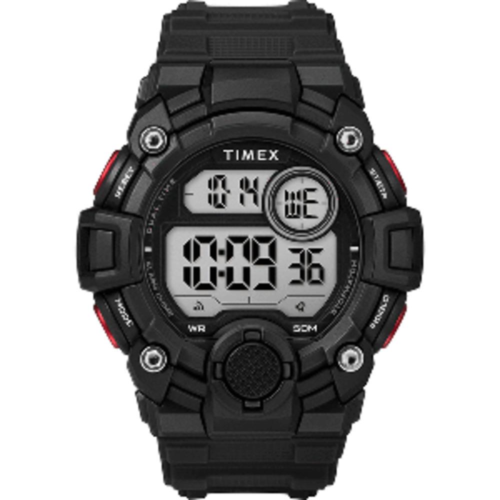 Timex Men's A-Game DGTL 50mm Watch - Black/Red - $46.99
