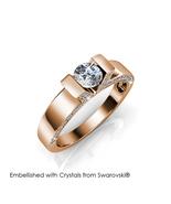 Venus Ring (Rose Gold) - Embellished with Crystals from Swarovski® - $29.95