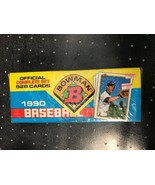1990 Bowman Baseball Complete Set 528 Cards Factory Sealed Boxed Set - $9.85