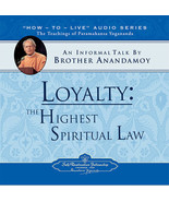Loyalty The Highest Spiritual Law An Informal Talk CD Brother Anandamoy ... - $9.99