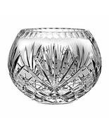 "Barski European Hand Cut Majestic Crystal Rose Bowl, 6""D - $73.63"