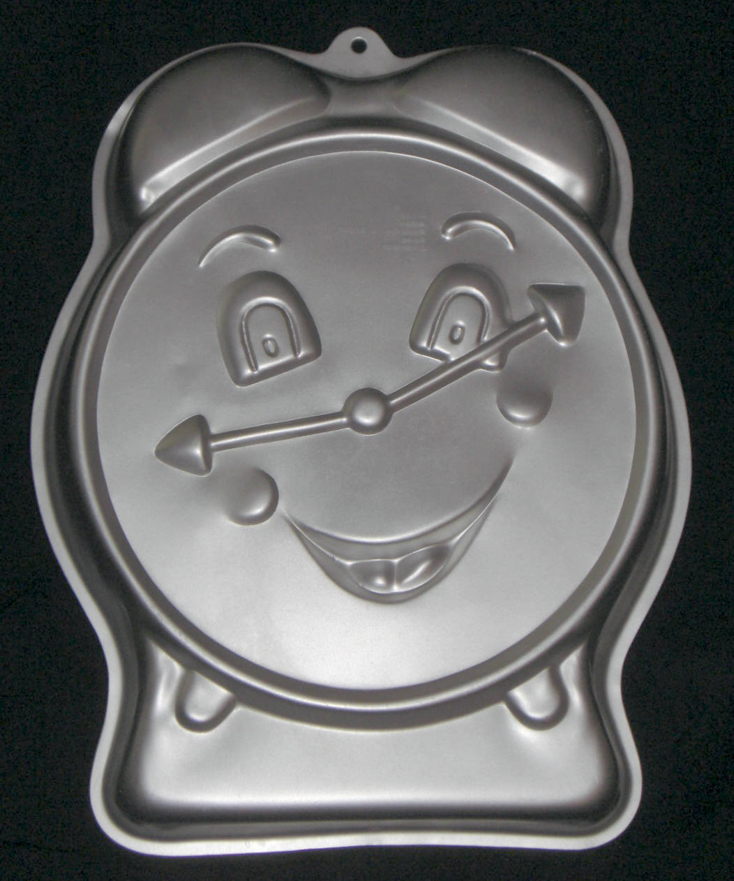 Primary image for 1991 Wilton Party Time Clock Cake Pan Alarm Retirement Bake Mold 2105-9111