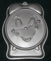 1991 Wilton Party Time Clock Cake Pan Alarm Retirement Bake Mold 2105-9111 - $12.95