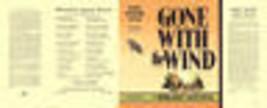Mitchell-Gone With The Wind Faksimile Dust -umschlag für Erste Ausgabe Buch - $22.48