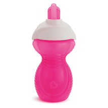 Munchkin Click Lock Chew Proof Trainer Cup 227ml Pink - $24.76