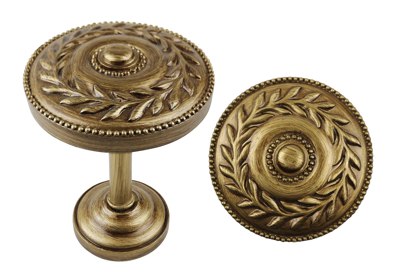 Urbanest Set of 2 Hera Medallion Drapery Holdback, Burnt Gold