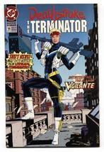 DEATHSTROKE THE TERMINATOR #10-1992-First appearance Vigilante   nm- - $25.22
