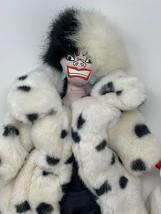 "Disney Store 101 Dalmatians CRUELLA DeVille Villain Plush 18"" Soft Doll - $15.84"