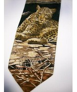 Endangered Species CHEETAH   100 SILK  NECKTIE 9  1115 - $15.99
