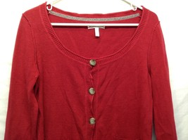 Aeropostale Red Button Up Cardigan Sz XL image 2