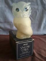 Vintage 1976 Avon Snow Owl Timeless Powder Sachet 1.25 oz. 4 in. tall - $5.38