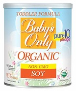 Baby's Only Organic Non-GMO Soy Protein Toddler Formula, 12.7 oz - $12.16