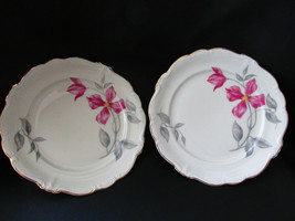 "2 Rosenthal Pompadour Beatrice Salad Plates 7 3/4"" - $29.99"