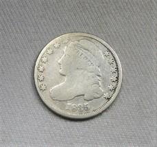 1835 US Capped Bust Dime Coin AJ110 - $27.99