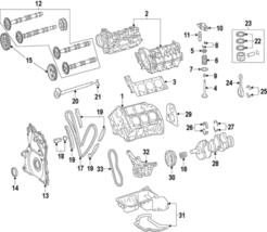 Genuine Mercedes-Benz Rear Main Seal Retainer 642-010-02-14 - $71.93