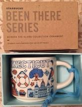 New Starbucks Been There Connecticut Ornament Mini Mug 2 OZ Demitasse - $34.64