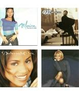 Lot of 4 CDs Monica Brown Deborah Cox Whitney Houston - No Cases - $2.99
