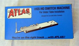 HO Scale Atlas #65 Switch Machine (for Under table) NOS - $11.40