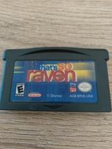 Nintendo Game Boy Advance GBA That's So Raven image 2