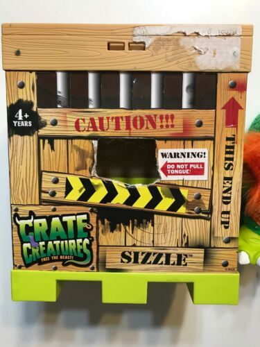 Crate Creatures Surprise! Sizzle MGA Enterprises Free the Beast! Over 44 Sounds!