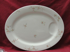 "Theodore Haviland New York China - Pink Spray Pattern - 16"" Oval Serving Platter - $28.95"