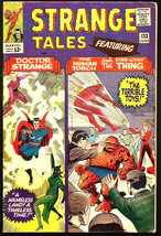 Strange Tales #133  Dr. Strange:  Ditko, Torch, Thing by Powell -1965 Stan Lee - $64.34