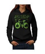Amsterdam Weed Bike Rasta Sweatshirt Hoody Holland Flat Women Hoodie - $21.99+