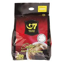 G7 Black Instant Vietnamese Coffee 7.05 ounces (200gram), 100 Packets - $15.83
