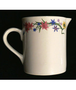 Farberware Country Garden Creamer Floral Cream Pitcher Stoneware Oven to... - $15.80