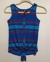 Tilly's Full Tilt Young Girls Tank Stripe Top Size M - $11.88