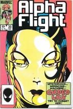Alpha Flight Comic Book #20 Marvel Comics 1985 VERY FINE+ - $2.99
