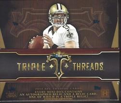 2014 Topps Triple Threads Football Factory Sealed Hobby Box - $247.50