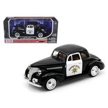1939 Chevrolet Coupe California Highway Patrol CHP 1/24 Diecast Car Mode... - $47.48