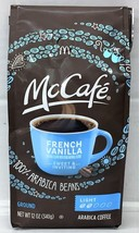 McDonalds McCafe French Vanilla Ground Coffee 12 oz - $9.40