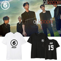 Kpop Day6 T-shirt 1st Album SUNRISE JAE Sung Jin Won Pil Do Woon Tshirt - $12.07
