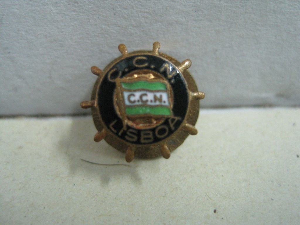 Primary image for Pin brooch in metal and enamel National Navigation Company