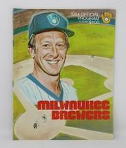 1984 Milwaukee Brewers Official Baseball Program MLB NO RESERVE - $9.87
