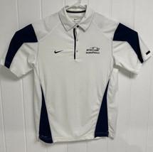 MVNU Basketball Men's Nike Dri-Fit Size M White and Blue - $9.80