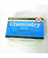 Barnes & Noble Sparknotes 600 Chemistry Study Cards Flash Cards Home Sch... - $12.86
