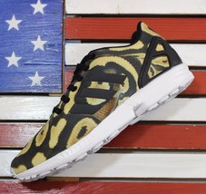 Adidas Originals ZX FLUX Python Snakeskin Running Shoes [S77310] Wmns 10.5 - $31.10
