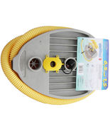 BRAVO 9 HIGH PRESSURE FOOT PUMP FOR INFLATABLE BOATS - $48.90
